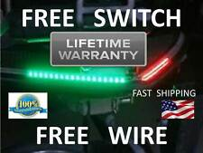 DOUBLE BRIGHT --- Boat Bow LED Navigation Kit - Red and Green Pontoon Fish 2015