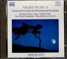 NIGHT MUSIC 4 - Classical Favourites For Relaxing And Dreaming - CD Naxos 1989