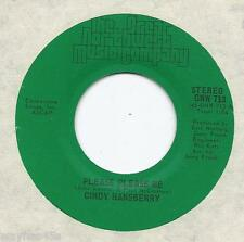 CINDY HANSBERRY * 45 * Please Please Me *1976 * BEATLES Song * MINT Northwest NW