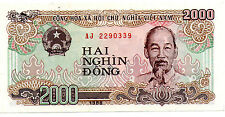 Vietnam 2000 Dong Banknote UNC 1988