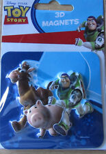Toy Story * Bullseye/Specki/Buzz * 3D Magnet * ca.8 x 8,5 cm  * Disney * Neu (6)