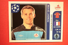 PANINI CHAMPIONS LEAGUE 2011/12 N 108 LANDREAU LILLE WITH BLACK BACK MINT!!