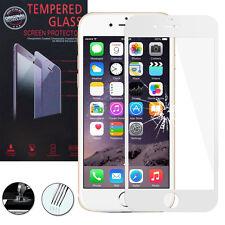 """Panzerglas für Apple iPhone 6/ 6S 4.7"""" Echtglas Display Schutzfolie WEISS"""