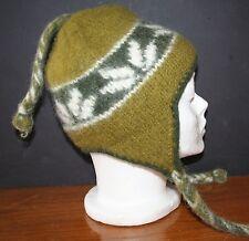 Katmandu Trading Co. WOOL Knit Ski Cap Hat Beanie THICK WARM EUC SMALL