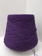 Wolle Garn Stricken & häkeln|Kone 100% baumwolle lila 1,2kg/Nm 7/1 Cotton bw10