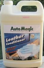 LEATHER CONDITIONER by Auto Magic - Deep Conditioning, Fresh Scent, 1 GAL
