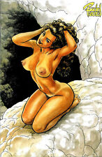 CAVEWOMAN UNCOVERED #1 BUDD ROOT Special Edition NUDE Cover Nice! NM New (2013)