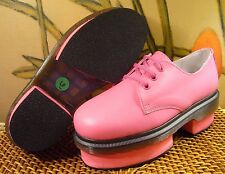 BUFFALO X SOLESTRUCK So Happy Together Pink Leather Platform Oxford Women's 6 M