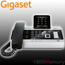 Siemens Gigaset DX800A All-in-One Cordless DECT Phone VoIP Bluetooth Ans.Machine