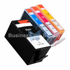 4 PACK 920XL New GENERIC Ink for HP Officejet 7000 series (E809) 7500 (E910)