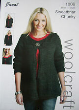 Ladies Knitting Pattern Chunky    [ Jarol 1006 ]
