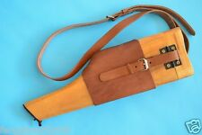 GERMAN MAUSER BROOMHANDLE LEATHER HOLSTER AND STOCK