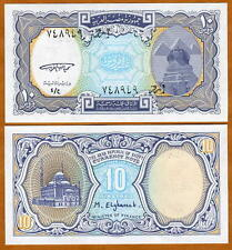 Egypt, 10 Piastres, ND (1998 1999), P-189a, UNC