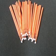 100pcs Disposable Applicator Supply MicroBrush Large Orange Eyelash Extension