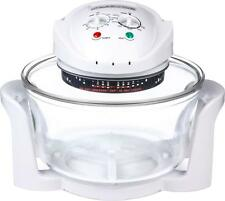 Andrew James 12 LTR Halogen Oven Premium Convection Cooker White 1300 Watts