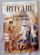 LA BUSQUEDA DE LAS ESPECIAS - CARSON I. A. RITCHIE -ALIANZA CIEN 1994 VER INDICE
