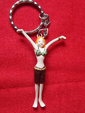 "ONE PIECE NAMI Keyring / 2.5"" 6.5cm SOLID PVC FIGURE UK DESPATCH"