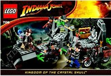 LEGO INDIANA JONES 'CHAUCHILLA CEMETERY BATTLE' #7196 100% COMPLETE GUARANTEE