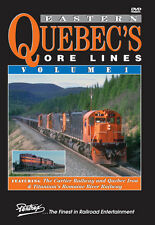 Eastern Quebec's Ore Lines Volume 1 DVD Pentrex NEW!