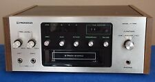 Pioneer H-R99 8-Track Recorder, includ 8-Track to Cassette adapter , See video !