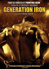 Generation Iron DVD READ DETAILS SHIPS NEXT DAY MICKEY ROURKE PHIL HEATH YUDIN