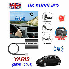 Yaris Bluetooth Hands Free Phone AUX Input MP3 USB 1.0A Charger Module 06-11