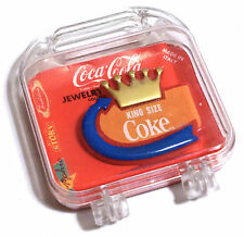 COCA COLA PIN SPILLA VINTAGE COCA COLA -KING SIZE COKE 1991 - JEWELRY COLLECTION