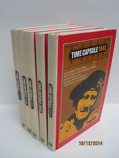 Time Life Capsules by Time Life Books Lot of 5 Books