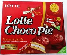 Lotte :: Choco Pie :: 100% Vegetarian :: Contains 12 Packs