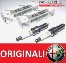 2 CANDELE ORIGINALI ALFA ROMEO MITO 0.9 900 TWINAIR TWIN AIR 63KW 86CV DAL 2011