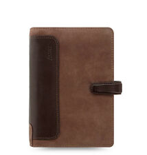 Filofax Holborn Nubuck Organizer/Planner Personal Size Brown Leather - 17-026040