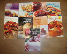 9 FABULOUS BAKING BOOKS edited by VALERIE FERGUSON * UK POST £3.25* PB *