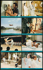 THE MAN WITH THE GOLDEN GUN set JAMES BOND/CHRISTOPHER LEE color lobby stills