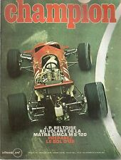 CHAMPION 51 1970 F1 MATRA MS 120 JEEPSTER WILLYS EJ2 500 PATON 125 YAMAHA AT1