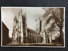 RP Vintage Postcard - Kent #24  - Canterbury Cathedral From SW - Walter Scott