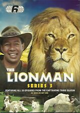 THE LIONMAN SERIES 3 - 6 DVD BOX SET - FEATURING ALL 20 EPISODES Series Three