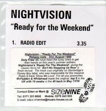 (AU279) Nightvision, Ready for the Weekend - DJ CD