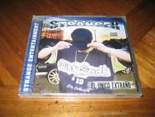 Chicano Rap CD Stranger - El Unico Extrano - Diego Dos Estylos Mentes Criminales