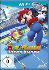 Mario TENNIS: ULTRA Smash (Nintendo Wii U, 2015, - box) ---