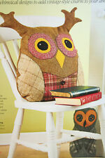 Owl Toy Cushion and Doorstop Sewing Pattern