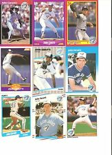18 CARD JOHN CERUTTI BASEBALL CARD LOT !                3-4