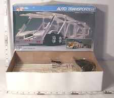 REVELL AUTO TRANSPORT TRAILER SEMI TRUCK MODEL KIT BOXED 1/25TH SCALE BOXED