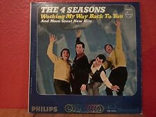 4 SEASONS Working My Way Back To You LP Vinyl VG Cover VG Philips PHM 200 201