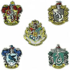 HARRY POTTER HOGWARTS Set of 5 Patches HIGH QUALITY IRON/SEW ON FREE SHIPPIG