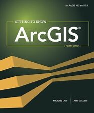 GETTING TO KNOW ARCGIS FOR DESKTOP  - AMY K. COLLINS MICHAEL LAW (PAPERBACK) NEW