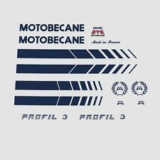 Motobecane Profil 3 Bicycle Stickers - Decals - Transfers n.600