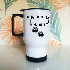Mummy Bear Travel Mug | New Mum Gifts | Mothers Day Gift
