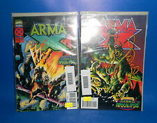Comic ARMA X - 2 numeros marvel comics