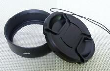 58mm Metal Lens Hood + 62mm Cap for Standard Camera Lens 58SC62