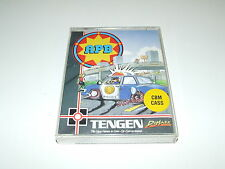 APB by TENGEN/DOMARK  for COMMODORE 64  COMPLETE WITH POSTER!
